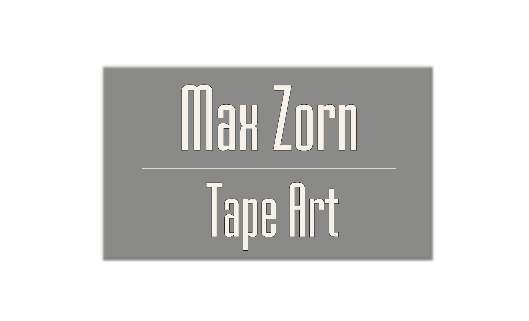 Tape Art, by Max Zorn, a street artist from Amsterdam, creating art with tape to beautify street lamps