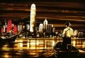 Hong Kong Arrival - Tape Art by Max Zorn