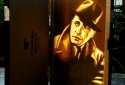 Humphrey Bogart - Tape Art by Max Zorn