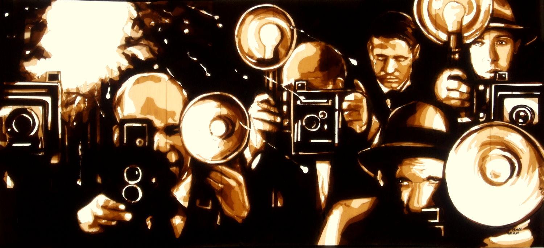 Max Zorn - Tape Art - Crosslines
