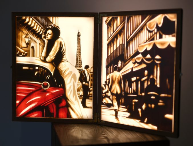 Paris Afternoon - Tape Art by Max Zorn