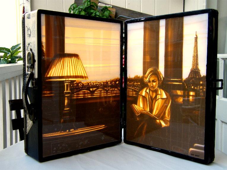 Suitcase - Paris Afternoon 1 -  website