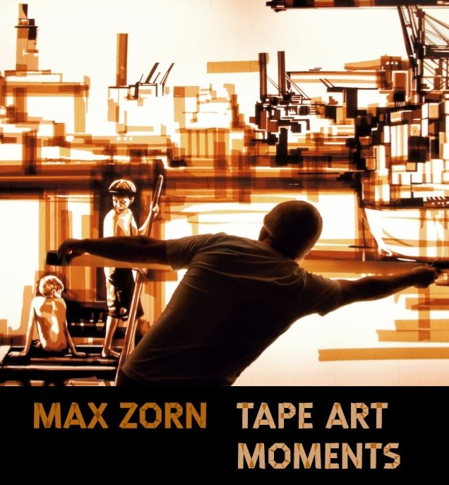 Contemporary artist Max Zorn talks about the beginning of his tape art in this art book with critic and art specialist Andreas Junge